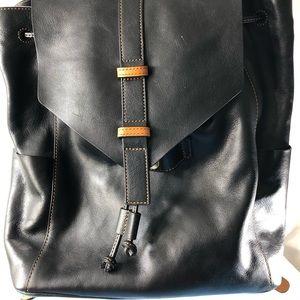 2d8e4a979d1b Vera Bradley Black Big Sky Backpack.